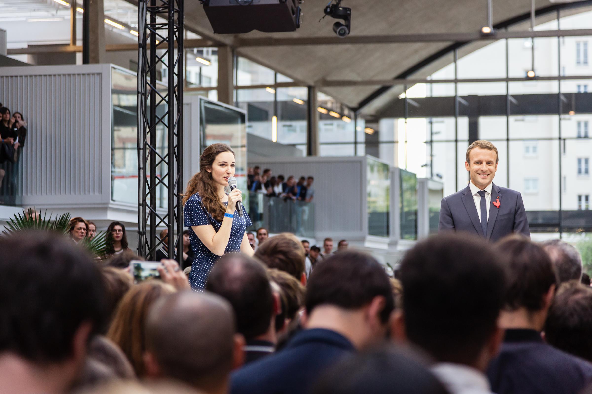 Discours d'inauguration du président de la République Française, Emmanuel Macron